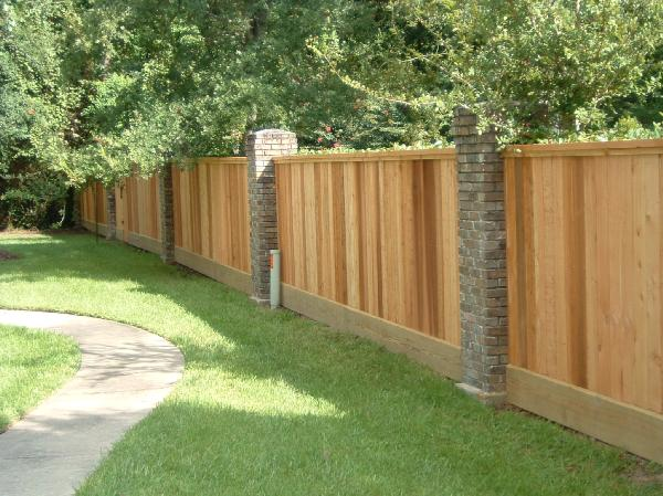 Custom Fence Installed in Jacksonvillle Florida